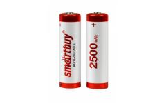Аккумулятор NiMh Smartbuy AA/2BL 2500 mAh (24/240) (SBBR-2A02BL2500)
