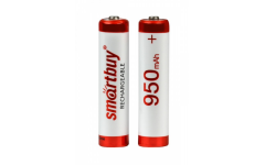 Аккумулятор NiMh Smartbuy AAA/2BL 950 mAh (24/240) (SBBR-3A02BL950)