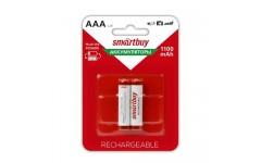 Аккумулятор NiMh Smartbuy AAA/2BL 1100 mAh (24/240) (SBBR-3A02BL1100)
