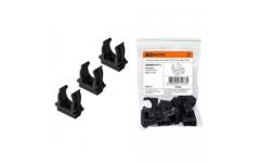 Крепеж-клипса для трубы ПНД 16 мм черная TDM (цена за штуку)
