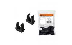 Крепеж-клипса для трубы ПНД 20 мм черная TDM (цена за штуку)