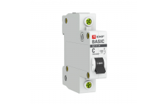Автоматический выключатель ВА 47-29 1P 40А 4,5кА EKF Basic