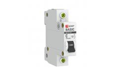 Автоматический выключатель ВА 47-29 1P 6А 4,5кА EKF Basic