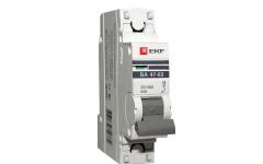 Автоматический выключатель ВА 47-63, 1Р 8А 4,5кА EKF PROxima