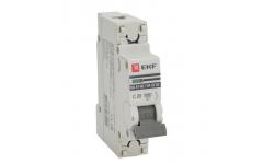 Автоматический выключатель ВА 47-63, 1Р 20А 4,5кА ЭКФ