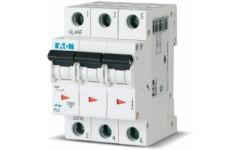Автоматический выключатель PL4 3P 25А, тип C, 4.5кА, 3M