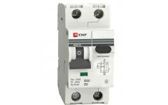 Дифференциальный автомат АВДТ-63М 40А/100мА 6кА EKF PROxima