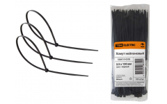 Хомут д/кабеля 2,5х150 нейлон черный (100шт) TDM