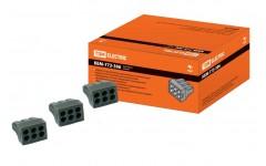 КБМ-773-306(2,5мм2)(5 шт/упак)TDM строит.-монтажная клемма
