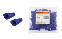 Соединительный изолирующий зажим СИЗ-Л-2 12 мм2 с лепестками синий (50 шт) TDM
