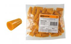 Соединительный изолирующий зажим СИЗ-3 5,5мм2 (1уп.=50шт.) оранжевый TDM