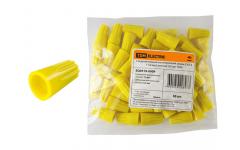 Соединительный изолирующий зажим СИЗ-4 11мм2 (1уп.=50шт.) желтый TDM