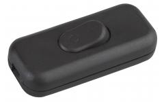 S1(B) ЭРА Выключатель для бра 6А черный