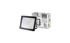 Прожектор светодиодный СДО-04-020Н 20 Вт, 4000 К, IP65, серый, Народный