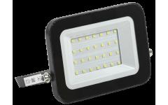 Прожектор СДО 06-30 светодиодный черный IP65 6500 К IEK
