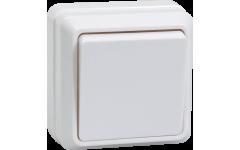 ВС20-1-0-ОБ выключатель 1кл 10А откр.уст.ОКТАВА (белый)