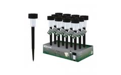 Светильник СП-325 на солнечных батареях, пластик, 4,7*32см, ДБ, TDM