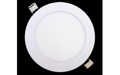 Светильник светодиодный ультратонкий LED круглый truEnergy 9W, 4000К