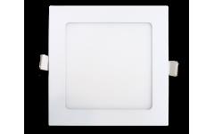 Встраиваемый светильник TruEnergy ультратонкий квадратный, 9W