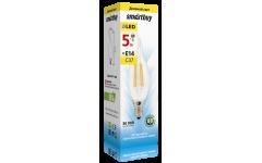 Светодиодная (LED) Лампа Smartbuy-C37FCan-07W/3000/E14