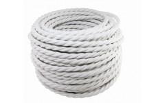 Ретро провод Эко 3х1,5 витой ГОСТ белый (50м) TDM