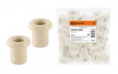 Керамический проходной изолятор для провода «ЭКО» сосна (25шт) TDM