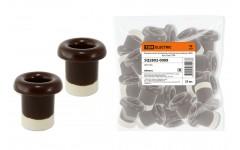 Керамический проходной изолятор для провода  «ЭКО» бук (25шт) TDM