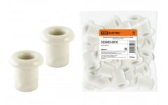 Керамический проходной изолятор для провода белый (25шт) TDM
