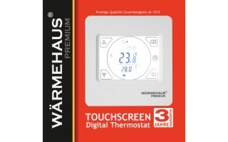 Терморегулятор WARMEHAUS Touchscreen, шт, Германия