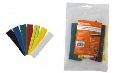 Трубка термоусадочная 1м (2:1) 14/7мм разноцветная -55-105°C TDM ELECTRIC