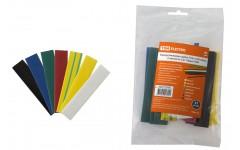 Трубка термоусадочная 1м (2:1) 16/8мм разноцветная -55-105°C TDM ELECTRIC