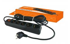 СФ-05В выкл-ль 5гнезд,1,5метра,с заземл-ем,ПВС3х1мм2 16А/250ВTDM сетевой фильтр