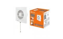 Вентилятор бытовой настенный 100 СВ, с выключателем, ТДМ